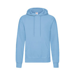 "Толстовка ""Hooded Sweat"", небесно-голубой_M, 80% х/б, 20% п/э, 280 г/м2"