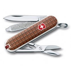 "Нож перочинный Victorinox Classic ""The Chocolate"" 58мм 7 функций"