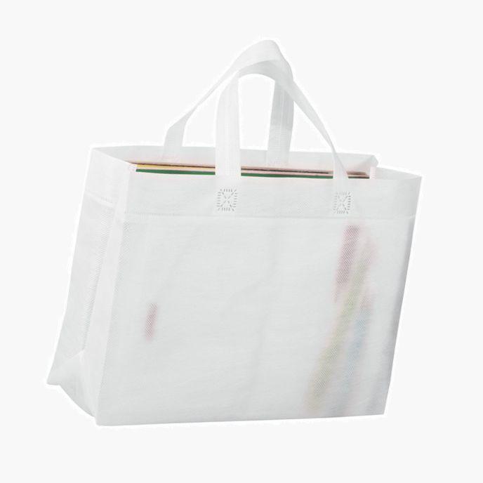 e053026950ea Сумка для покупок Span 3D, белая оптом. Нанесение логотипа