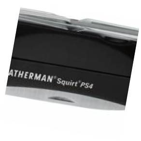 Мультитул Leatherman Squirt PS4 Blac 9 функций черный