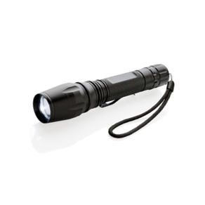 Фонарик CREE heavy duty, 10W, черный