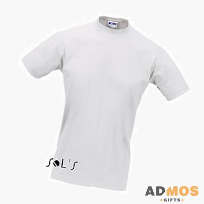 белая футболка Sol's.