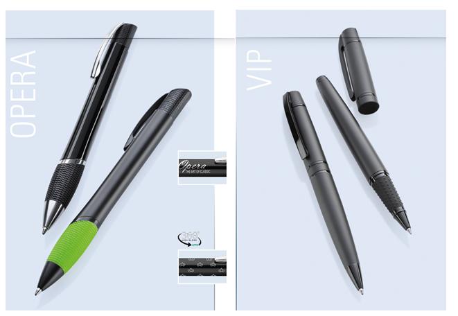 Ручки UMA в металлическом корпусе