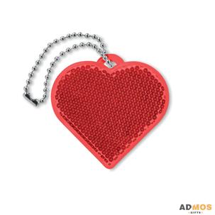 Светоотражатель в форме сердца