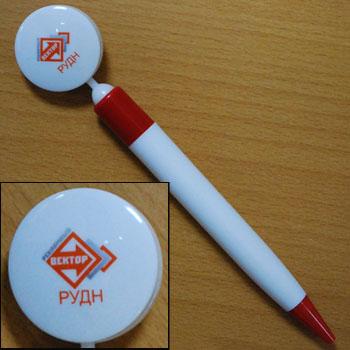 рекламный вектор ручка