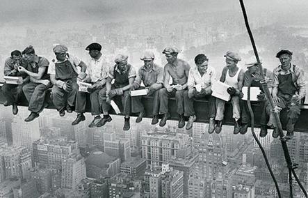 фотография рабочих