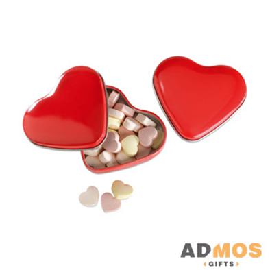 Коробочка сердце с конфетами