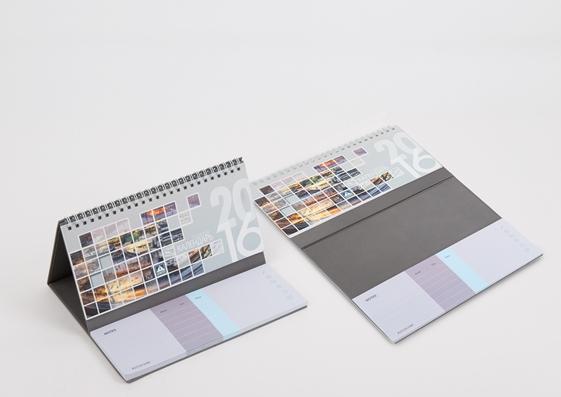 Календарь с блоком для записей